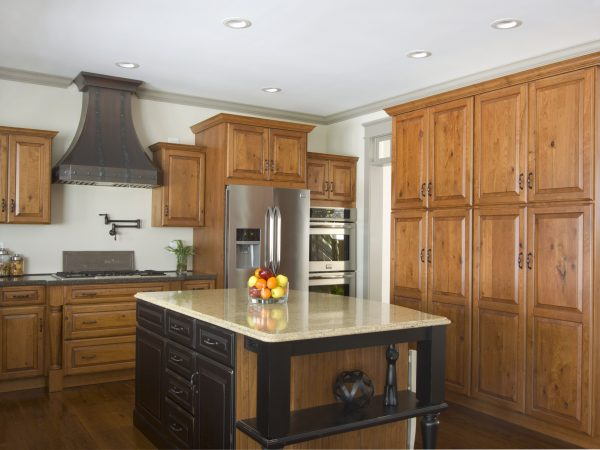 modern semi-custom cedar cabinets