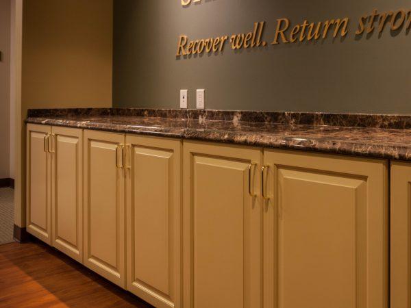 commercial granite countertop installation