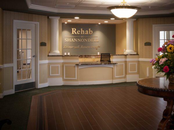 new granite countertops in nursing center