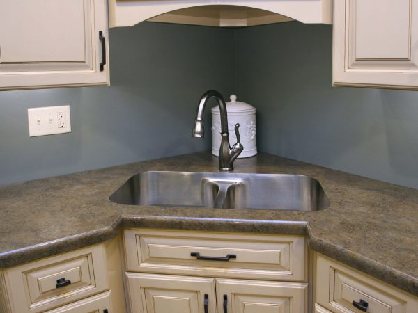 newly remodeled kitchen sink