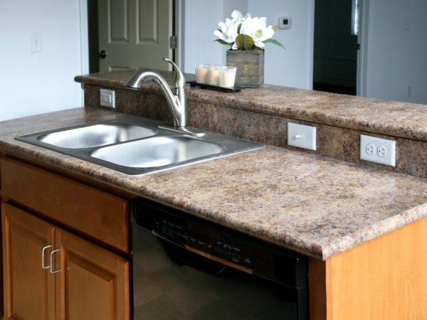 brand new granite kitchen countertop