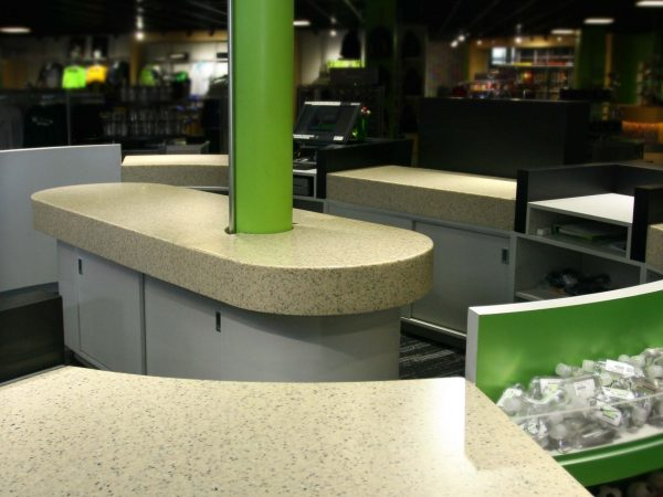 laminate reception desk in manheim