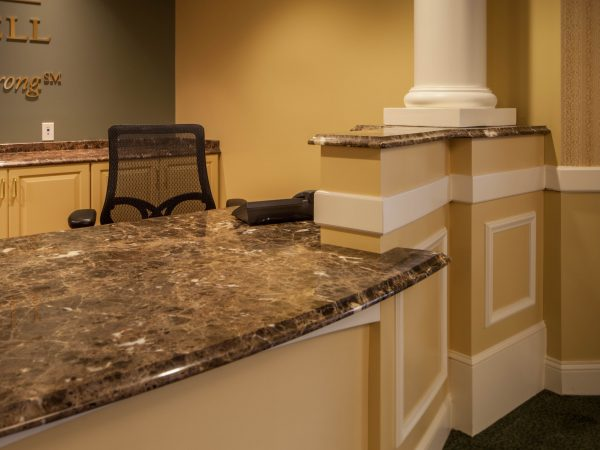 king of prussia marble countertop installation