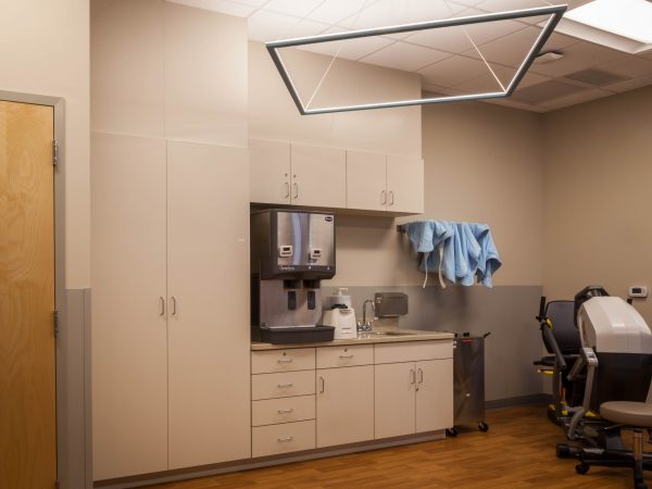 beige medical office cabinets