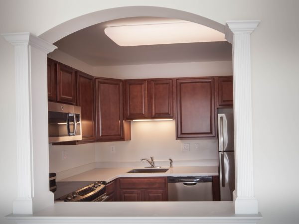 dark stock kitchen cabinets