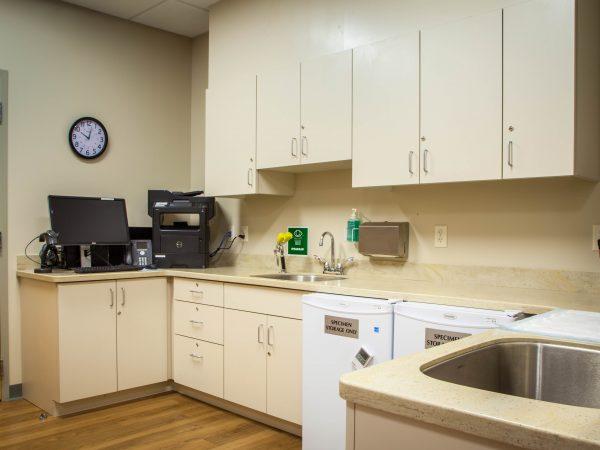 white medical storage cabinets
