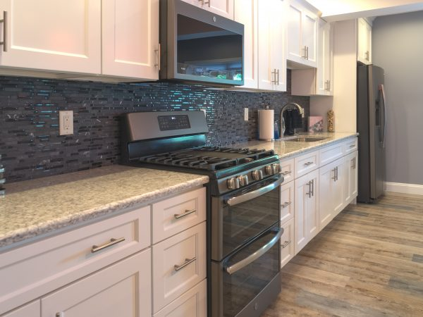 kitchen with white wolf classic cabinetry