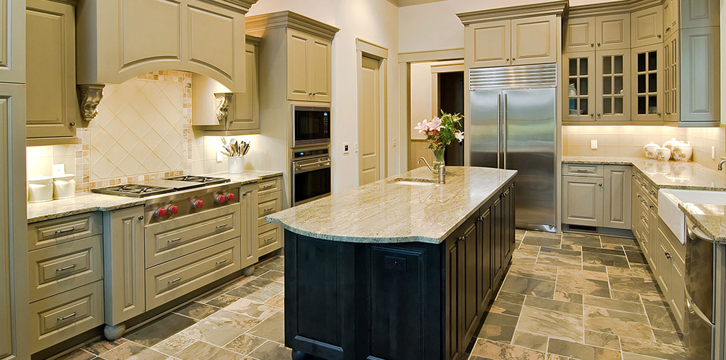 Luxury counter top in Lancaster, PA house