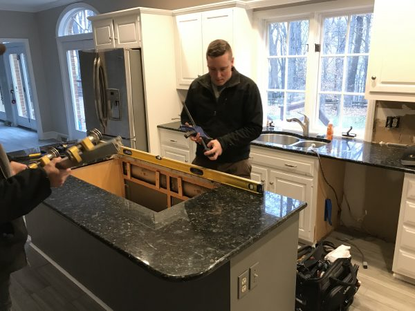 kitchen island repair and installation services