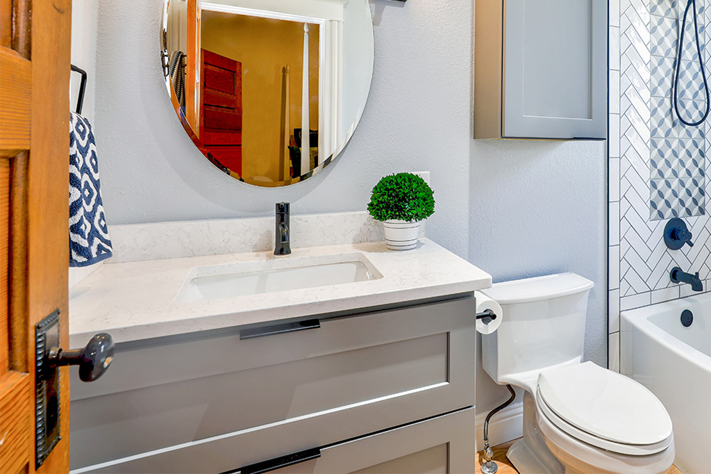 bathroom vanity counter ideas