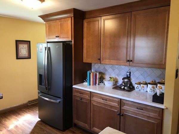 new wooden kitchen cabinets