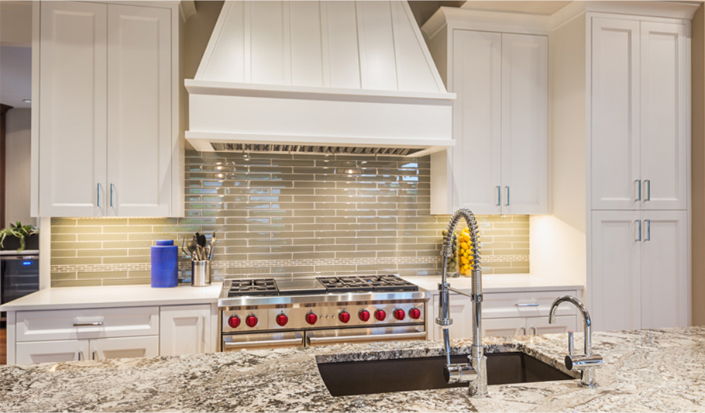 trending residential kitchen wall colors