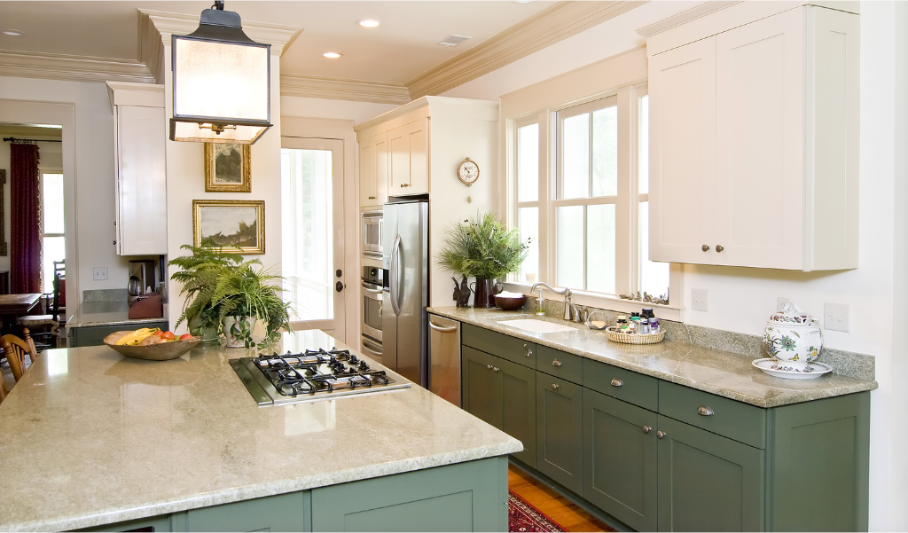 green color ideas for residential kitchen