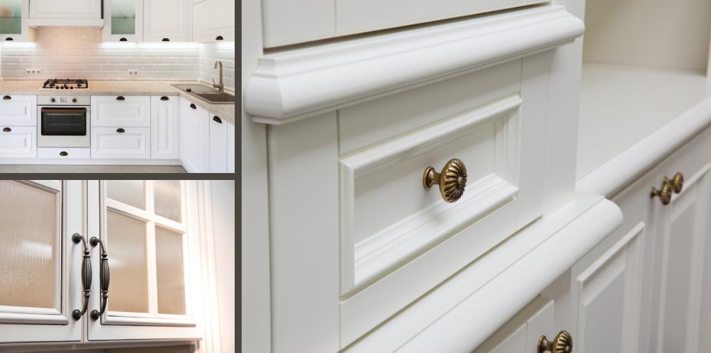 Farmhouse kitchen cabinet hardware styles