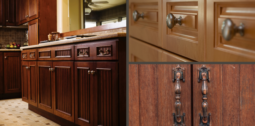 Traditional cabinet hardware styles