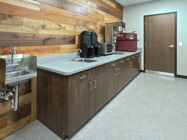 wooden business cabinets