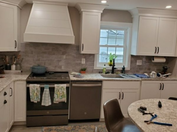 small kitchen remodel in chester county