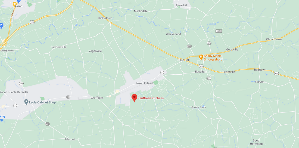 new holland location of kauffman kitchens