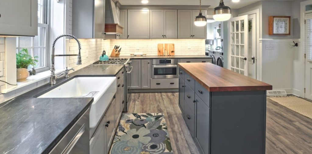 newly renovated kitchen in chester county