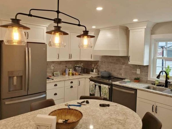 small cozy kitchen renovation