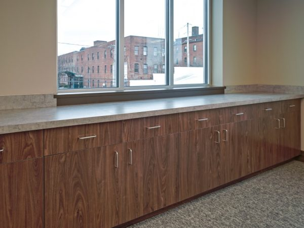 new wooden underneath office cabinets