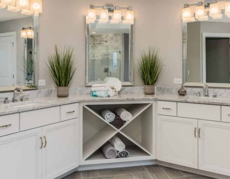 Master Bathroom Remodel: Vanities, Counters & More!